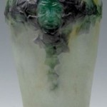 We Buy and Appraise all Gabriel Argy-Rousseau Green Face Vases