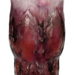 We Buy and Appraise all Gabriel Argy-Rousseau Purple and Red Leaves Vases